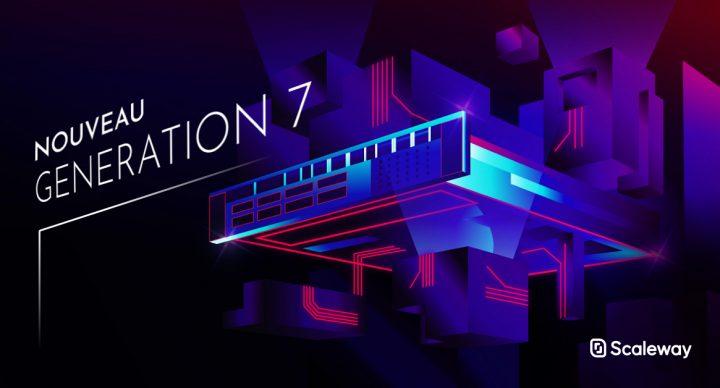 Scaleway Dedibox : une Génération 7 de serveurs dédiés équipés Xeon / Epyc